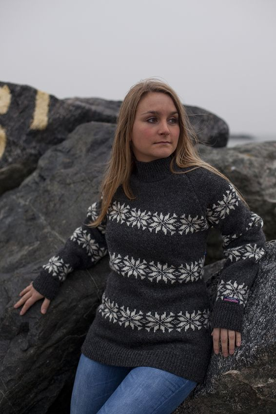 Sweater  made of 100% pure Wool by Norwool, Norway, £64.95