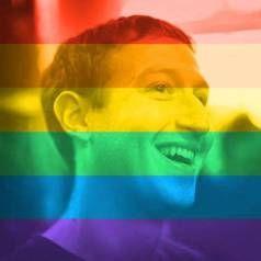 Soneto de Pipa   Casa Branca   Arco-íris   GLS   Casamento Gay   Homoafetivo   Mark   Facebook   Rede Social   Colors