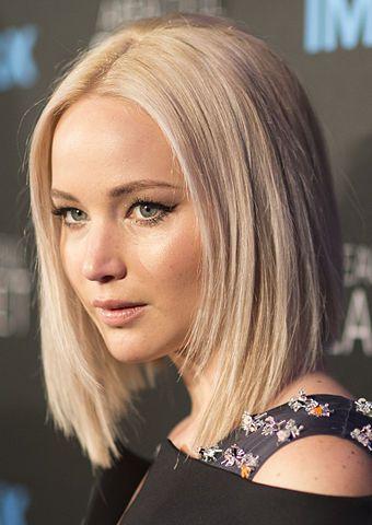 Un primer plano de Jennifer Lawrence