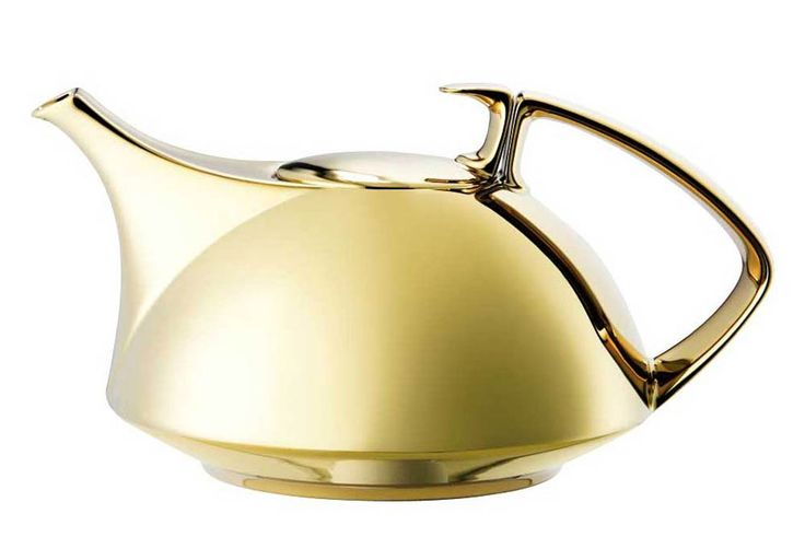 TAC 02 Dinnerware - Dynamic Gold Tea Pot, All Gold from Rosenthal in Yardley, PA from Pink Daisy