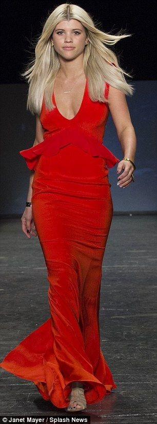 Sofia so good: Lionel Richie's daughter proved her pedigree on the catwalk too