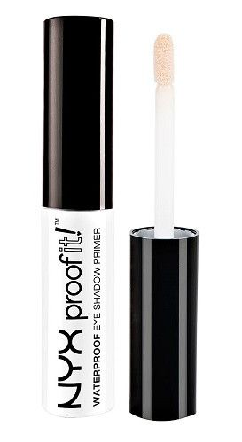 The waterproof eye primer creates an even canvas while it keeps the eyeshadow in…