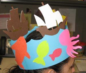 shark headband craft Google Search