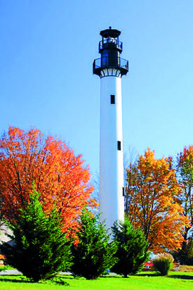 Recycled wind turbine tower now lighthouse at Summersville Lake - News - The Charleston Gazette - West Virginia News and Sports -