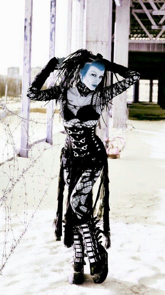 #CYBERGOTH #beauty