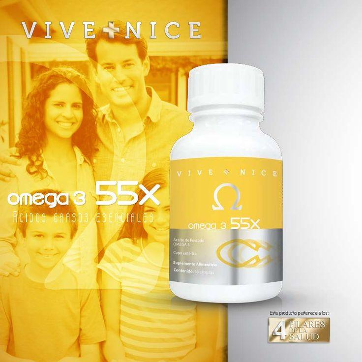 Omega3 55X *Acidos Grasos Esenciales