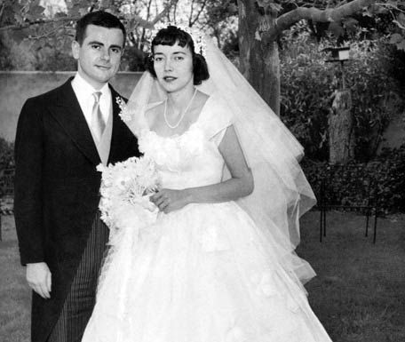dominick dunne and ellen griffin 1954 famous weddings