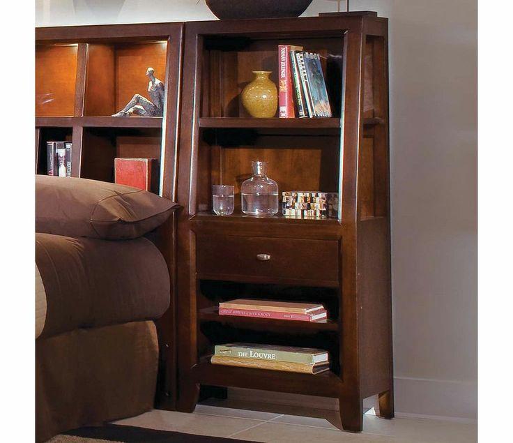 American Drew Tribecca Bookcase Nightstand Set of 2