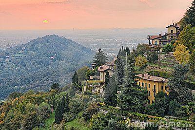 Countryside By Bergamo, Lombardy, Italy