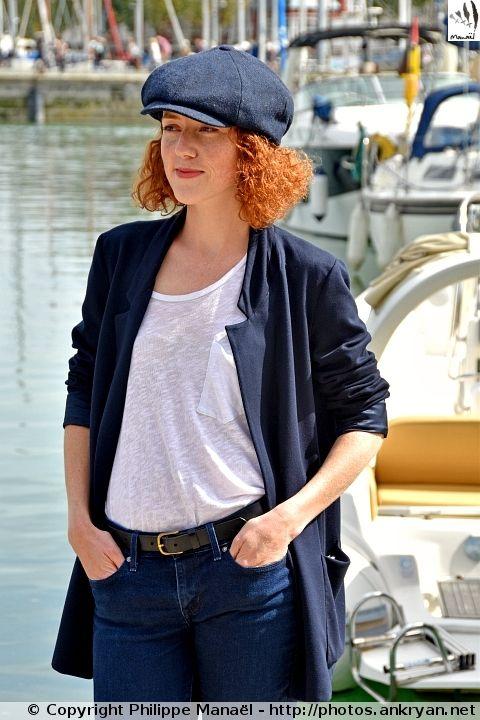 """Blandine Bellavoir (""""Les Petits Meurtres d'Agatha Christie"""") - Festival de la fiction TV de La Rochelle 2015"""