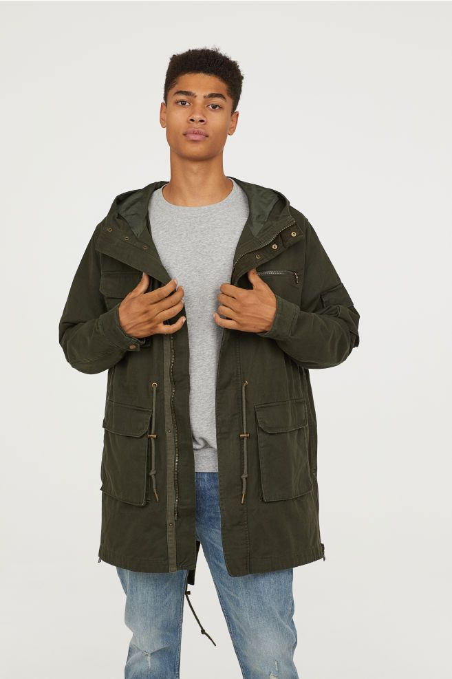 los angeles 3d2bc cd895 Cotton Twill Parka | Me in 2019 | Parka, Cotton, Jackets