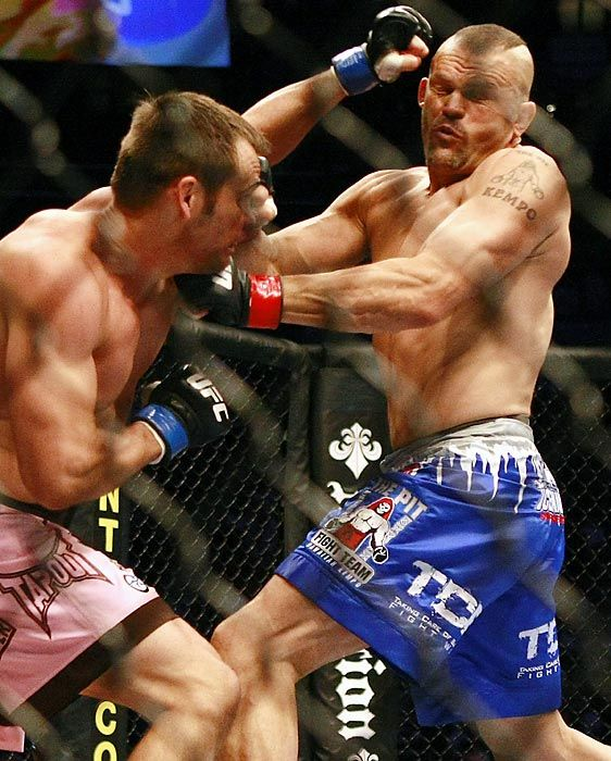 MMA All-time Record Holders: Most UFC knockouts 10, Chuck Liddell
