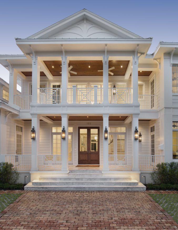 Downtown Naples Caribbean Charm - Weber Design Group, Inc. - Naples, Florida Architects