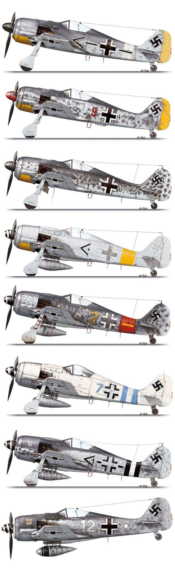 Focke Wulf Fw 190                                                                                                                                                                                 More