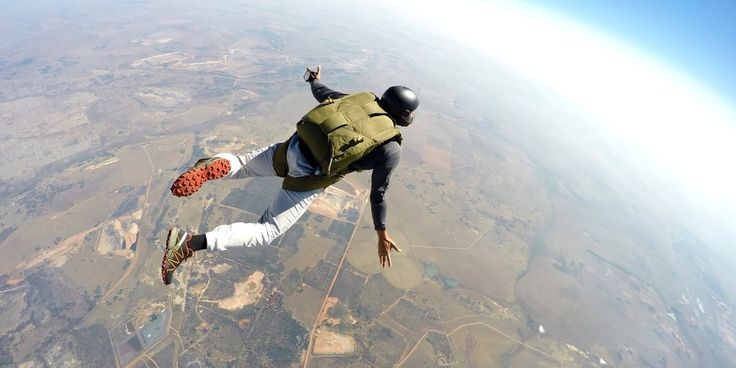Mitchell Aulds-Stier on Skydiving