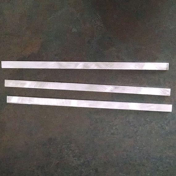 12 gauge Aluminum Bracelet Blanks 1/4 x 6 inch by hugsandblessings