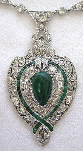 http://rubies.work/0915-sapphire-pendant/ 0642-ruby-rings/ Art Deco Platinum…