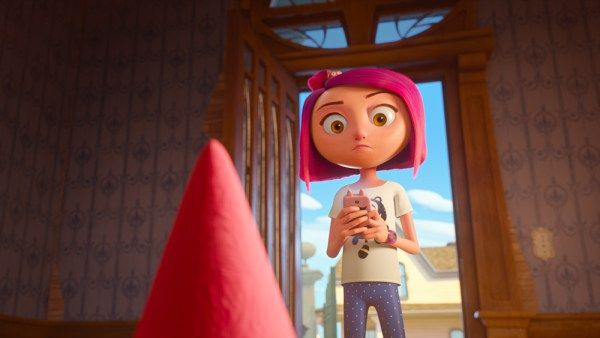 Gnome Alone Movie directed by Peter Lepeniotis and starring Becky G