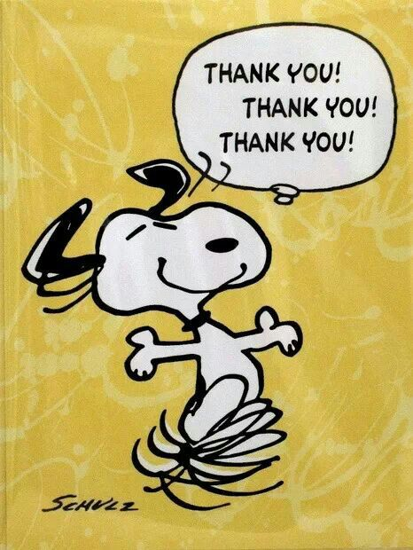 {*} THANKS. Snoopy