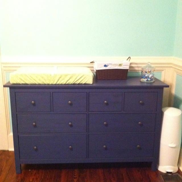 Ikea Hemnes Dresser In Blue