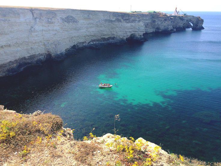 west coast of crimea, sea black sea, summer