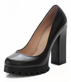 Черные кожаные туфли на высоком каблуке #MarioMuzi #shoes #style #fashion #comfortable #womens #for_girls #lady #pretty #beautiful #casual #2016 #spring #summer #onlineshop #shopping #sale #Kharkiv #Kharkov #Ukraine #Lviv #Dnepropetrovsk #Odessa #МариоМузи #обувь #женская_мода #женская_обувь #женские_туфли #интернет_магазин #шоппинг #весна #лето #Харьков #Львов #Днепропетровск #Одесса