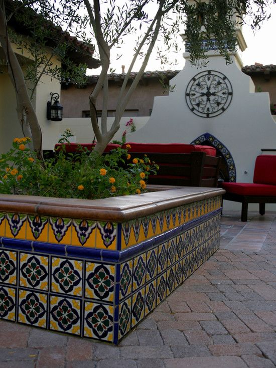17 best ideas about mexican courtyard on pinterest - Mexican style patio design ...