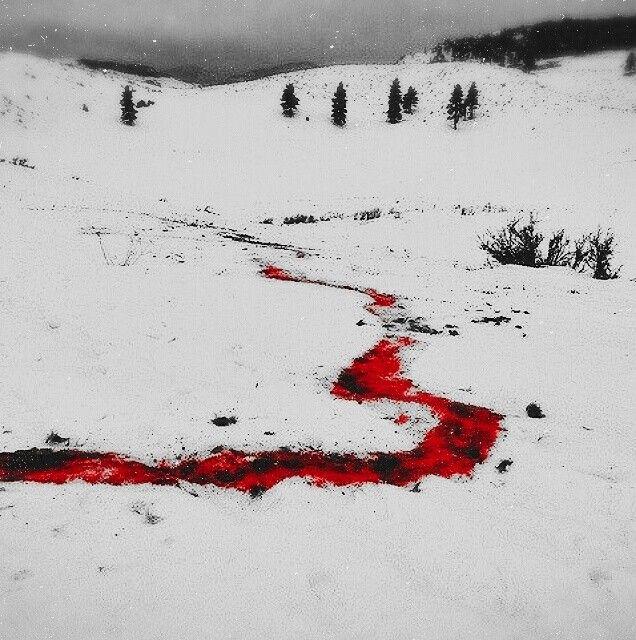 Снег в крови картинки