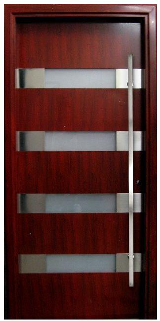 contemporary front door handles | Milano Door House Designs - Comes with Contemporary European Hardware ...