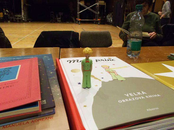 Laterna magika - rehearsal