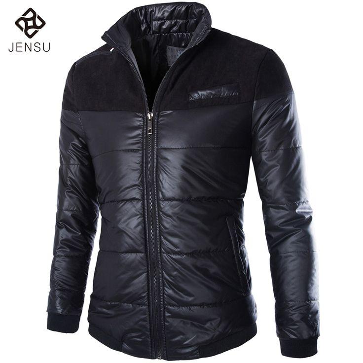Black Color Men Winter Jackets Mens Downs Jackets Fashion Men Outwears Slim Fit Casual Down  Parkas Warm Jackets M-5XL