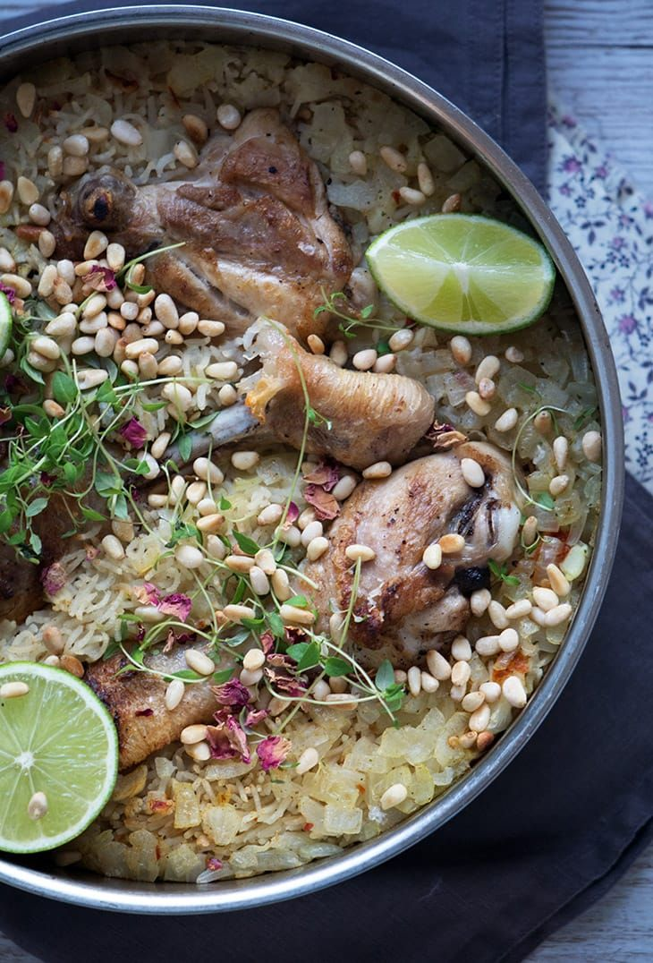 one pot ris med kylling