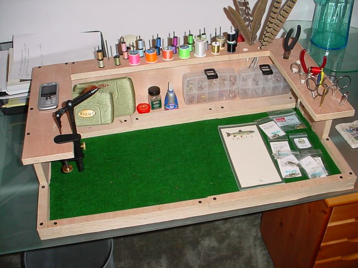 fly tying station homemade - Google Search