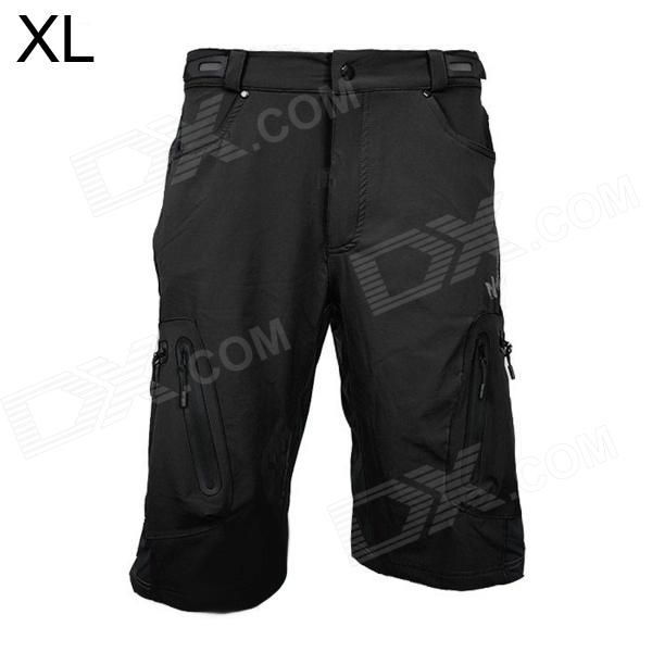 ARSUXEO AR1202 Outdoor Sports Lycra   Composite Fabric Cycling Shorts for Men - Black (XL) Price: $28.10