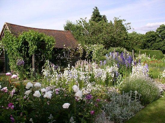 Manor House, Upton Grey. Gertrude Jekyll garden design.