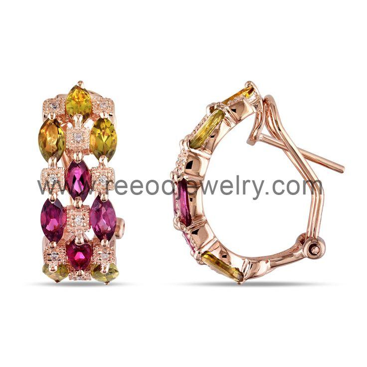 Special offer !Latest Elegant 925 silver earring E072 www.reeoojewelry.com