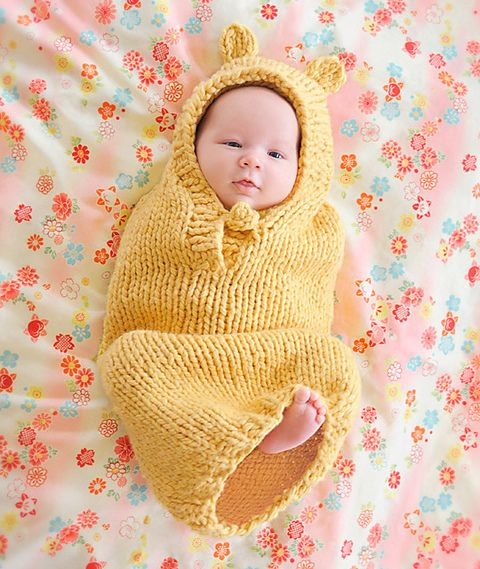 Spud and Chloe Buga Baby Bunting Knitting Pattern #9210