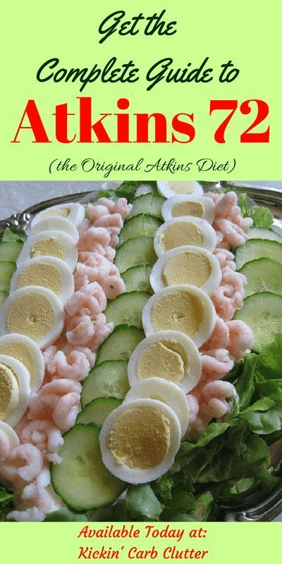 The Complete Guide To Atkins 72 Induction The Original Atkins Diet
