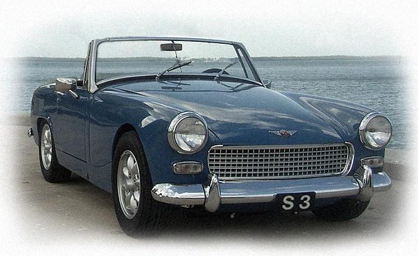 My first car: Austin Healey Sprite