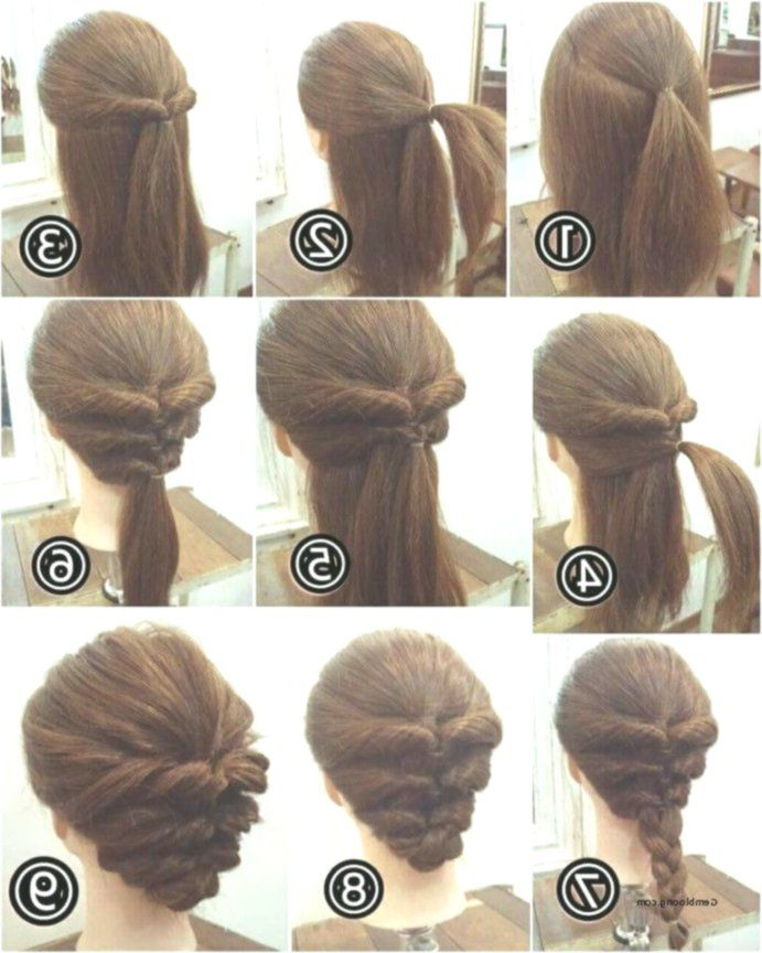 Easy Hairstyles For Short Hair Step By Step Step By Step From Wedding Hairstyles In 2020 Short Hair Styles Easy Easy Hairstyles Hair Styles
