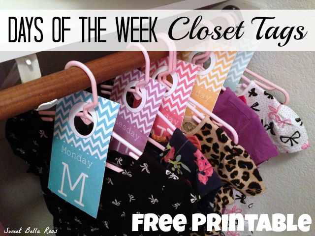 days-of-the-week-closet-tags