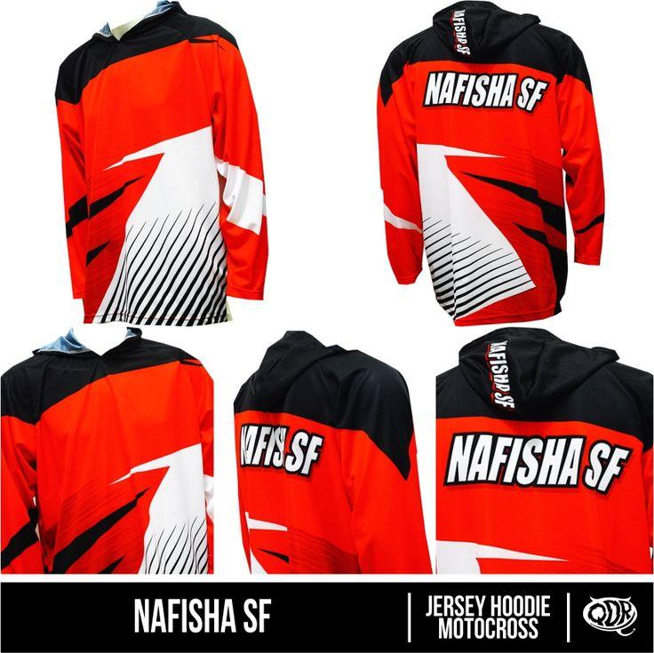 Jersey Hoodie Motocross  Bahan: Dry-fit  printing: sublimasi  untuk pemesanan:  BBM D5443117 Qdr online shop WA/LINE 081222970120