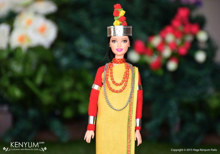 Barbie in Khasi attire