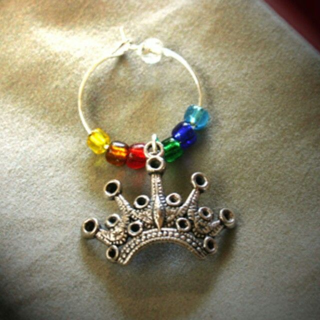 A good day for some rainbows!  Wine glass charms at www.aromaqueen.com.au #rainbow #winecharms #wine #wineglass #AromaQueen