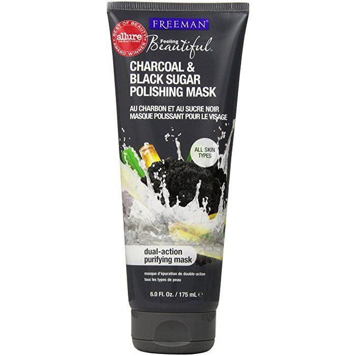 10 Best Peel-Off Face Masks -#5  Freeman Charcoal and Black Sugar Polishing Mask #rankandstyle