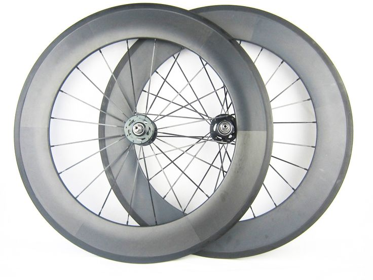 465.50$  Watch here - http://aliytf.worldwells.pw/go.php?t=32749044341 - free customs tax 88mm clincher carbon fiber track bike wheels fixed gear bicycle wheelset