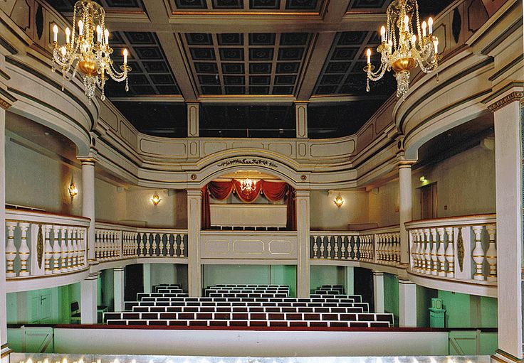 Ekhof Theatre, Gotha, Germany (the oldest Baroque Theater in Europe) -- [2nd of two pins]