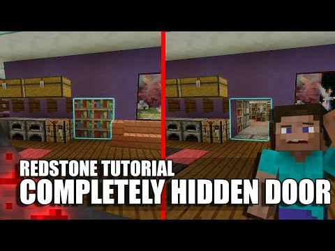 Minecraft: Completely Hidden Redstone/Jeb Door - YouTube
