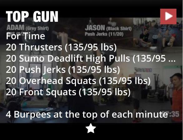 Top Gun Workout