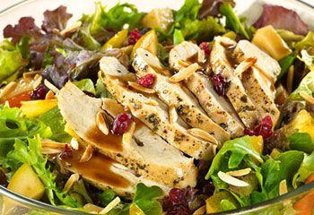 RECETA: Ensalada de pollo mediterránea